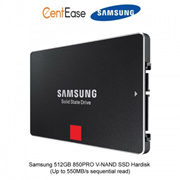 Samsung 512GB 850PRO V-NAND SSD Hardisk (Up to 550MB/s sequential read)