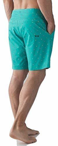 ▶$1 Shop Coupon◀  Lululemon Mens Commission Short Board Short Swim Suit Arctic Teal