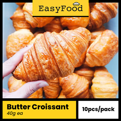 [Promo] Butter Croissant 9 x 40g (UP$25)