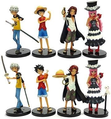 Half Age Characters One Piece Promise Of The Straw Hat Monkey D Luffy Shanks Trafalgar Law Perhona Imported Directly From Japan