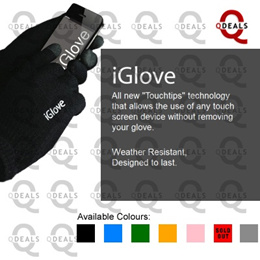 Singapore Stock Winter Gloves Touch Screen iGloves for Samsung Note3 Note2 Galaxy iphone HTC Sony
