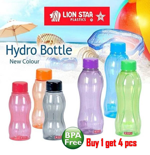 Lion Star Botol Minum Hydro Bottle BPA Free Deals for only Rp32.000 instead of Rp32.000