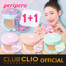 [CLUBCLIO Official e-Store] ★1+1★ PERIPERA Inklasting Pink / Mint / Lavender / Airy Cushion