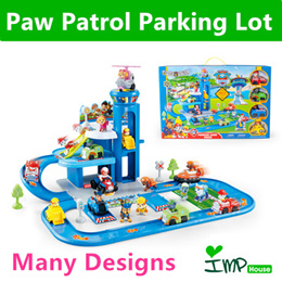 ★IMP HOUSE★[imp kids] Paw Patrol Toy Paw Patrol Playset/ Paw Patrol Parking Lot