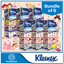 [BUNDLE of 6] Kleenex Facial Tissues -New Limited Edition Princess/Floral/Natural/Classic/Garden