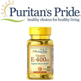 Puritans Pride Vitamin E-400 IU 400 IU / 100 Softgels