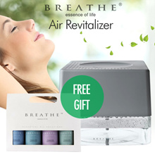Australia Best Selling Multi-functional Air Purifier  ✮ 3 yrs warranty✮ BREATHE  Air Revitalizer Set
