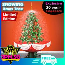 Snowing Christmas Tree Xmas 2017 Decoration