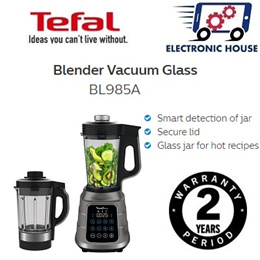★Tefal BL985A High Speed Blender Vacuum Glass ★ (2 Years Warranty)