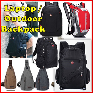 a4f668495758 ☆Backpack☆ Swissgear - Notebook bag - Outdoor Backpack - Messenger Sling Bag  - School