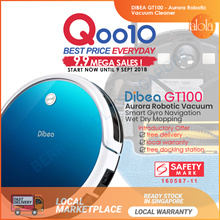 [10.10 SALE ▼49%]GT100 Aurora Robotic Vacuum Cleaner Gyroscope🌟
