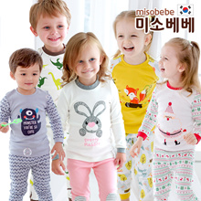 NEW!★misobebe★Baby pajamas  for boys and girls/Baby clothes/Cotton 100%