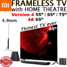 Xiaomi TV Frameless 55 /65 75 inch 1 year warranty