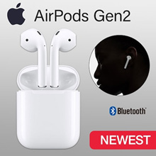 Apple AirPods Gen2 with Charging Case Bluetooth Earphones ★ Genuine Apple★