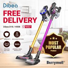 ★ Dibea D18   H008 Cordless Vacuum Cleaner   2 in 1 Handheld   Office   Car