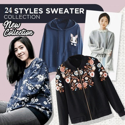 SWEATER COLLECTION Deals for only Rp65.000 instead of Rp65.000