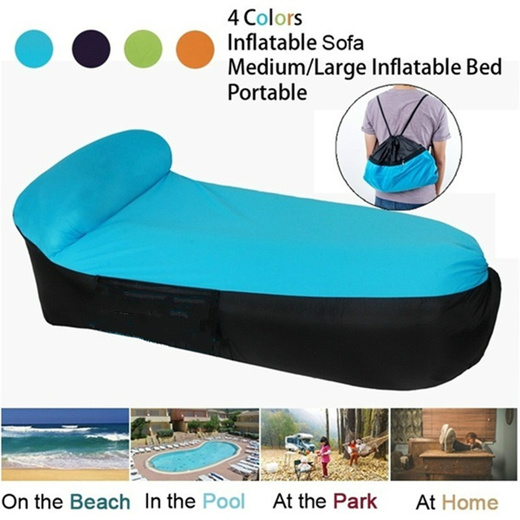 Qoo10 Inflatable Lounger Chair With