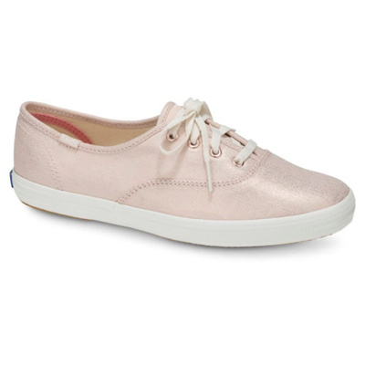 KEDS - KDZ-WF57957-CHAMPION METALLIC LINEN.ROSE GOLD. WOMEN SHOES KDZ0002448.A641