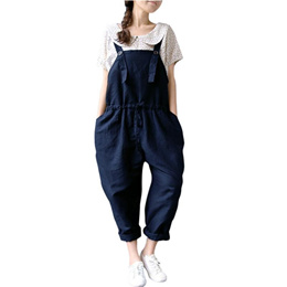 996b1fa8c4 rompers womens jumpsuit Women Oversized Dungaree Jumpsuits Bib Casual Loose  Long Pants Trousers