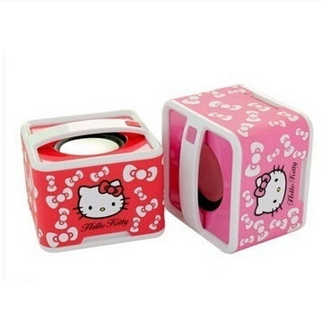 Hello Kitty Mini Wireless Bluetooth speaker portabel subwoofer terdengar lucu notebook kecil