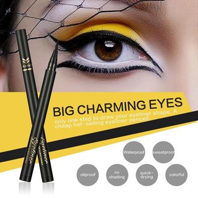 4927cea5581 Wonder-Beauty Waterproof Eye Brow Eyeliner Eyebrow Pencils With Brush  Makeup Cosmetic Tool Eyeliner