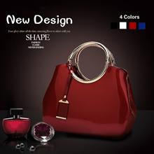 Women Fashion Luxury Leather Smooth Ring Handbags Bride Dinner Party Evening Bag Elegant Lady Crossb