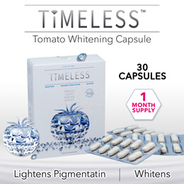 [1 Mth Supply] Timeless Tomato Whitening 30 Capsule **FREE DELIVERY**