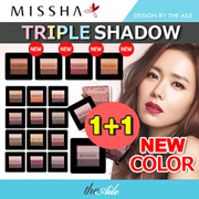 [MISSHA] ★1+1★ Missha TRIPLE SHADOW 12colors