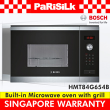 **FREE DELIVERY** BOSCH HMT84G654B BuilT-in Microwave oven with grill