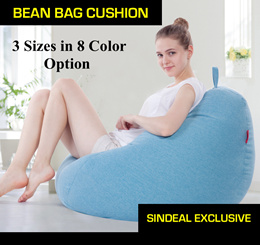$49.90!! EXTRA LARGE (XL) Adult BEAN BAG! Lazy Bean Bag Sofa Premium Bean Bag Chair + Mystery Gift