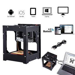 Laser Engraver Printer Machine 550*550 Pixel High Resolution for PC Pad Phone