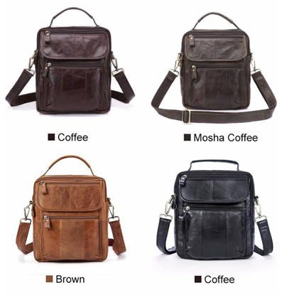 ded16764841d Leather Bag Handle Men Shoulder Bags Crossbody Bag Leather Handbags Mens  Handbags Messenger Bag