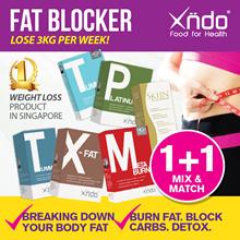 [1+1 Mix Match] Xndo Carbo Blocker Burner Detox Slimming Tablets