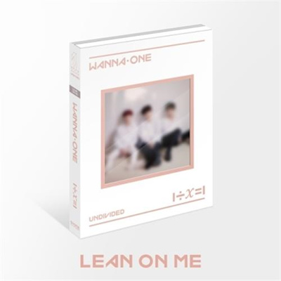 (KPOP) WANNA ONE - 1 ÷ Χ = 1 (UNDIVIDED) [Special Album] [LEAN ON ME VER ]  / K-pop Idol Ster