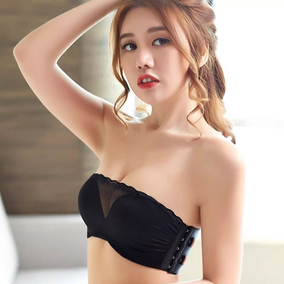 53f7482936928 Push-Up Bras strapless bras Japanese Korean Fashion tube top wireless bra  new invisible anti-light  Rating  0  Free  S 12.80 S 12.00