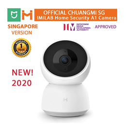[OFFICIAL ChuangMI SG]XiaoMi(iMiLab)NEW 2020! 360 A1 Home Security 3MP Camera |Mijia App|Motion/Baby