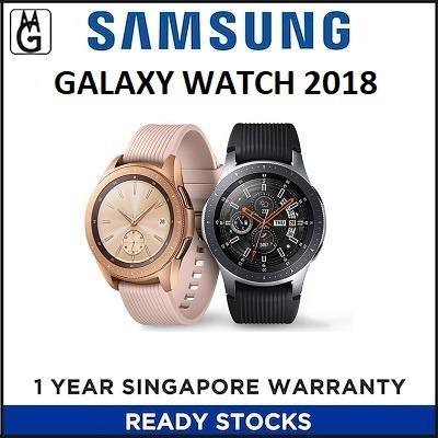 SAMSUNG AGENT SET Galaxy Watch 2018 I Local 1 Year Warranty Deals for only S$1299 instead of S$1299