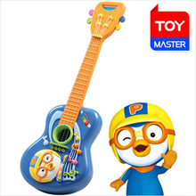 NEW PORORO! Guitar Toy / Musical Instrument Education / Educational Toy / Melody Guitar / Easy to Play! / Korean Animation Toy [Free Shipping]
