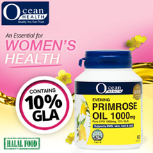 !LOWER PRICE! Evening Primrose Oil 1000mg (60 Softgels)