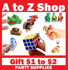 [GIFTS $1 to $2] Party Goodie Bag Birthday School Carnival Supplies Puzzles Games Set Door Gift Kids