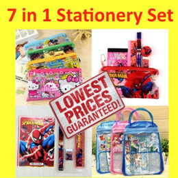 ★ Children Day Gift Goodie bag ★ Kids Birthday Party Stationery Set Pencil Set Paw Patrol Tsumtsum