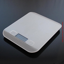 Kitchen Scale 11lb/5kg Digital Multifunction Stainless Steel Kitchen Food Scale (Color: Silver)