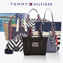 [Tommy Hilfiger]  department store 9 Type Canvas tote bag