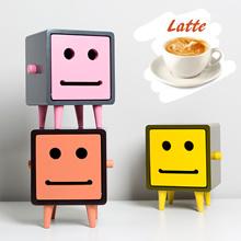 Macaron Ted 2 Latte / Original Macaron Family / Featured in Korean Drama Variety Shows