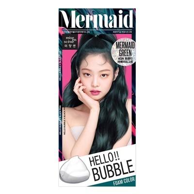 Mise en scene Hello bubble 4GN Mermaid Green