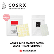 COSRX Acne Pimple Master Patch 24 Patches (1 Sheet)/COSRX Clear Fit Master Patch18 Patches (1 Sheet)