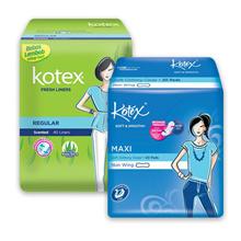 Kotex Fresh Liner Regular Daun Sirih (40 pcs) Maxi Non Wing Daun Sirih (