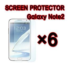 SAMSUNG GALAXY NOTE 2 II N7100 LCD SCREEN PROTECTOR Film×6