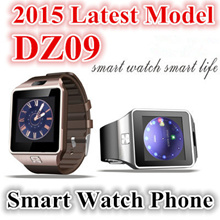 [Auctio] ★Smartwatch★Newest Model Authentic DZ09 Bluetooth Touchscreen SIM Card smart watch Phone With Spy Camera / For iPhone Android HTC Samsung LG Smart phones/ Good Value/Fast Shipping Wristwatch