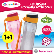 Tupperware Aquasafe Eco  Water Bottle 500ml Slim Fliptop Chinese New Year Special Limited Edition